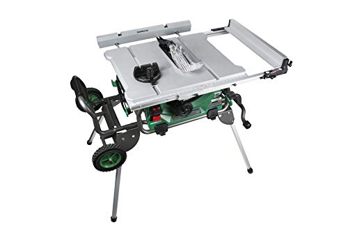Metabo HPT Jobsite Table Saw, 10-Inch Carbide...