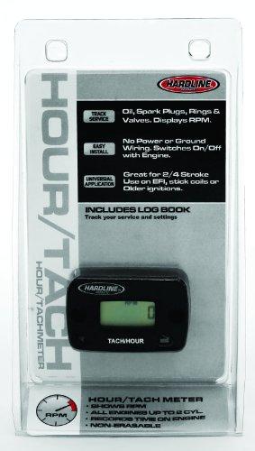 Hardline Products HR-8061-2 Hour Meter/Tachometer...