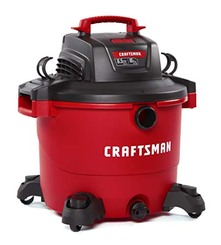 CRAFTSMAN CMXEVBE17595 16 Gallon 6.5 Peak HP Wet/Dry Vac