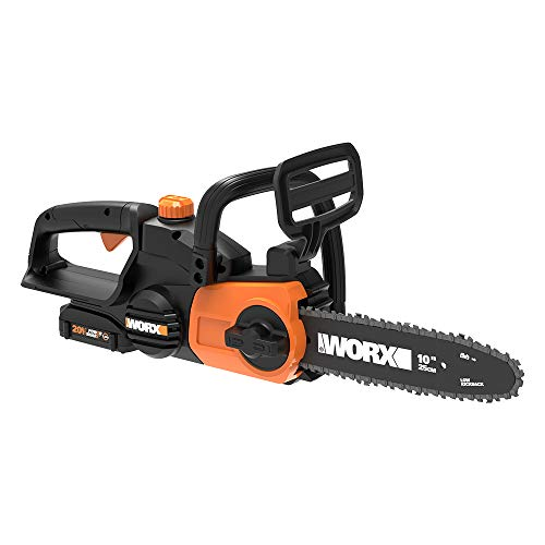 Worx WG322 20V Cordaless Chainsaw with Auto-Tension