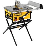 DEWALT 10-Inch Portable Table Saw with Stand...