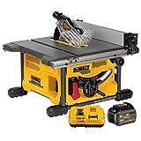 DEWALT DCS7485T1 FLEXVOLT 60V MAX Table Saw Kit, 8-1/4'