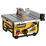 DEWALT DWE7480 10 in. Compact Job Site Table Saw...