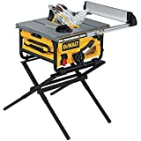 DEWALT DW745S Compact Job Site Table Saw with...