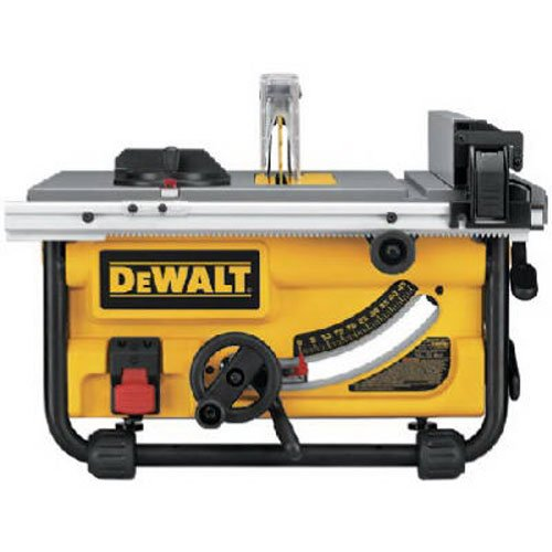 DEWALT DWE7480 10 in. Compact Job Site Table Saw