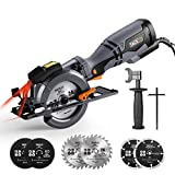 TACKLIFE Circular Saw with Metal Handle, 6...
