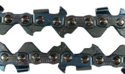 count chainsaw chain links