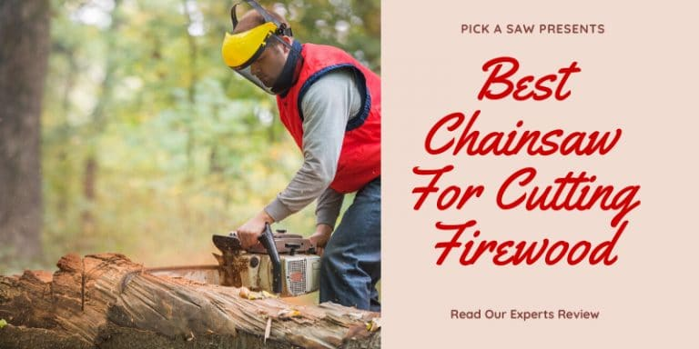 Best Chainsaw For Firewood