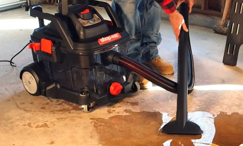 How To Use A Shop Vac To Pick Up Water